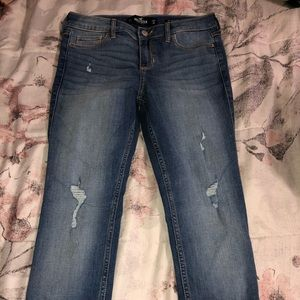 Hollister mid rise jeans